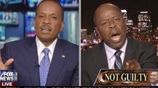 Download EPIC! Leo Terrell Flips Out, Explodes At Juan Williams: 'Shame On You!' on Zimmerman Verdict Video