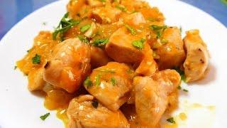 Download Pollo a la NARANJA receta CHINA - recetas de cocina faciles rapidas y economicas de hacer Video