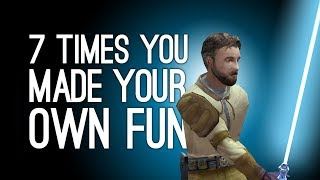 Download 7 Times You Made Your Own Fun in Games Video