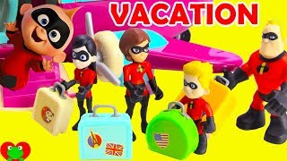 Download Family Vacation Disney Pixar Incredibles 2 Forgetting Jack Jack Video