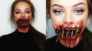 Download SEWED SHUT MOUTH - SFX Makeup Video