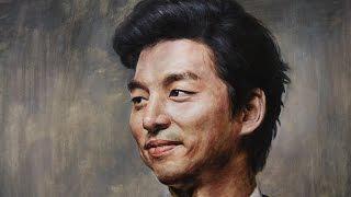Download 얼굴그리기 인물수채화 11( 도깨비 공유 인물화) watercolor portrait Video