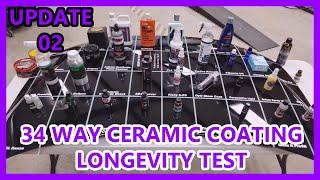 Download UPDATE 02: 34 way Ceramic Coating, Wax, Sealant Comparison Test Video
