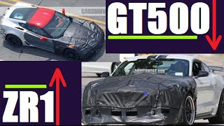 Download CONFIRMED!! 2018 Corvette ZR1 VS 2018 Shelby GT500! 800HP?!? Video