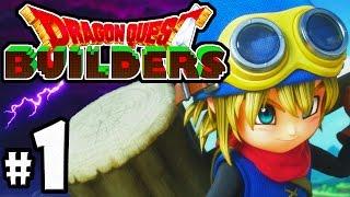 Download Dragon Quest Builders PART 1 - PS4 Gameplay Walkthrough - Minecraft Meets Terraria! - Cantlin Town Video