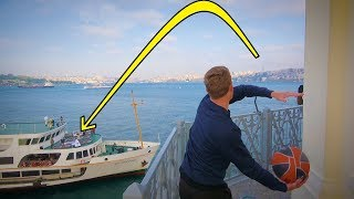 Download BEST TRICK SHOT EVER (LIGHTHOUSE to SHIP)!! Video