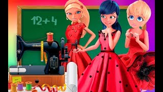 Download Miraculous Ladybug |School cheatting | Competition How to sew a dress Transform Animation Video
