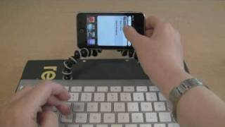 Download iPod Touch & Bluetooth Keyboard: Portable note taking solution Video