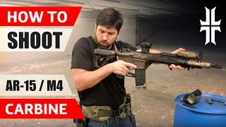 Download How to Shoot an AR-15 / M4 Carbine Video