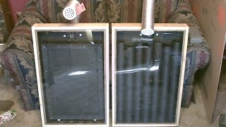 Download Solar Air Heater! - The ″Screen Absorber″ Solar Air Heater! - Easy DIY (full instructions) Video