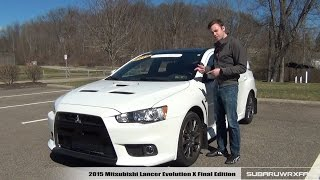 Download Review: 2015 Mitsubishi Lancer Evolution X Final Edition Video