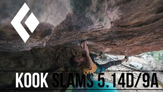 Download Paul Robinson - Kook Slams 5.14D/9a (2nd Ascent) Video