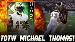 Download TOTW MICHAEL THOMAS IS THE NEW CALVIN JOHNSON! - Madden 17 Ultimate Team Video