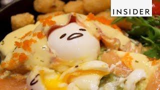 Download Restaurant Makes Lazy Egg-Themed Food After Gudetama Video