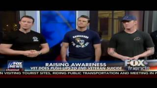 Download Veterans & NYPD 22 pushup challenge on Fox & Friends Video