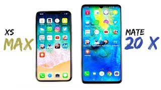 Download iPhone XS Max vs Huawei Mate 20 X Speed Test! Video