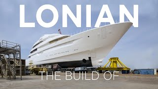 Download 4K Timelapse of 87m Feadship Lonian Video