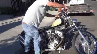 Download Hunting Harley's, 1976 shovelhead bobber Video