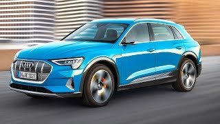 Download Audi e-tron All Electric 5 Key Tesla Beating Features On Sale World Premiere Audi Electric SUV Video Video