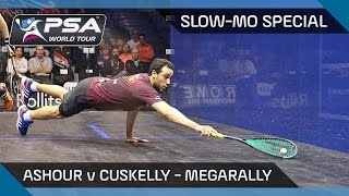 Download Squash : Slow-Mo Special - MegaRally Combo! Ashour v Cuskelly Video