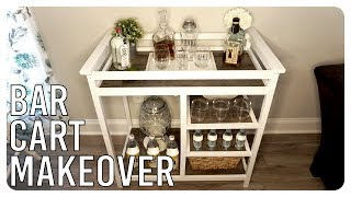 Download Old Changing Table Turned Bar Cart - Makeover Video