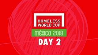 Download LIVE | Day 2 Homeless World Cup 2018 | Pitch 2 Video