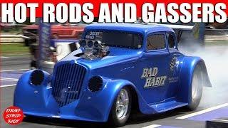 Download 2012 Gasser Reunion Hot Rod Nostalgia 1/4 Mile Drag Racing Cars Video Video