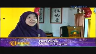 Download Ummat Trans 7 - Muslim Tionghoa Video