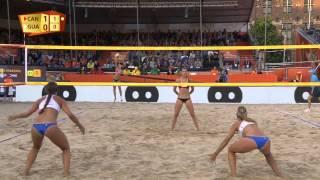 Download Humana-Paredes/Pischke (CAN) vs. Orellana/A. Orellana (GUA) - Den Haag - World Championships 2015 Video