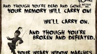 Download Welcome To The Black Parade - My Chemical Romance Lyrics Video