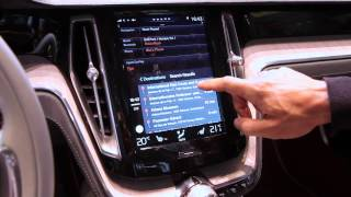 Download Apple Carplay Demo In Volvo Concept Estate: Geneva Motor Show 2014 Video