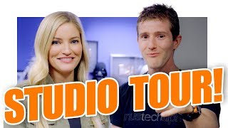 Download Linus Tech Tips INSANE Studio Tour! Video