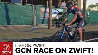 Download Race In Richmond With GCN And Zwift Video