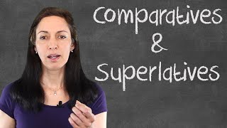 Download Common Mistakes with English Comparatives and Superlatives - English Grammar Lesson Video