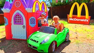 Download McDonalds 🍔 CON MI COCHE 🚗 DRIVE THRU 👶 Video