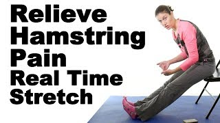 Download Relieve Tight Hamstrings with This Real Time Hamstring Stretch - Ask Doctor Jo Video