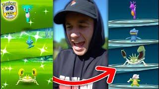 Download EVOLVING TO NEW SHINY POKÉMON! (Pokémon GO Fest 2019) Video