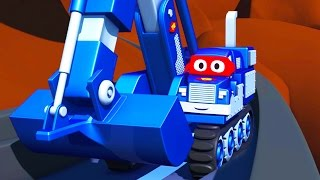 Download Carl the Super Truck 🚚 in Saving Baby Cars 👶 in Car City | Trucks Cartoon for kids Video