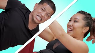Download Guys Try Pilates For The First Time feat. Blogilates Video