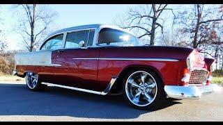 Download 1955 Chevrolet Bel Air Street Rod Steve Holcomb Pro Auto Custom Interiors Video