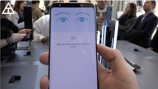 Download Galaxy S8 Iris Scanner and Fingerprint Demo! Video