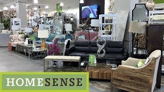 Download HOME SENSE FURNITURE SOFAS CHAIRS TABLES HOME DECOR SHOP WITH ME SHOPPING STORE WALK THROUGH 4K Video