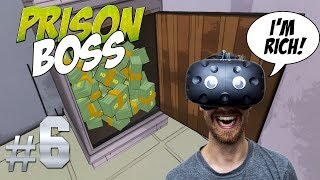 Download BREAKING OUT OF THE SECOND PRISON! | Prison Boss VR #6 - HTC Vive Gameplay Video