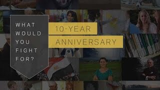 Download What Would You Fight For?: 10 Year Anniversary Video