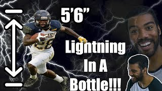 Download The Shortest Running Back In The NFL!!!- Tarik Cohen College Highlights [Reaction] Video