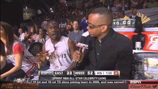 Download [HD] Kevin Hart NBA Celebrity all star weekend Houston 2013 Back2Back MVP Hilarious LOL Video