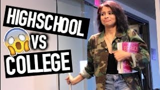 Download HIGHSCHOOL VS COLLEGE | SIMPLYNESSA15 | Video