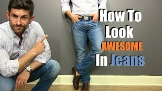 Download How To Look F*%king AWESOME In Jeans | 5 Secrets For Denim Domination Video