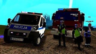 Download GTA San Andreas - Wypadek przy pościgu i pożar śmietnika - JRG Łańcut w akcji... Video