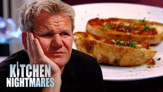 Download Chef Serves Gordon 3 WEEK OLD Baked Potato | Kitchen Nightmares Video